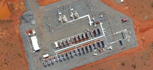 Power facilities at Granny Smith